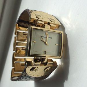 Michael Kors Gold Snake Watch